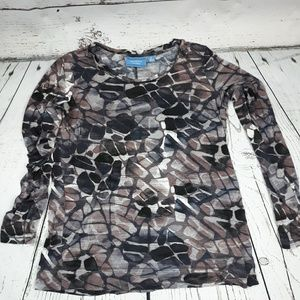 Simply Vera, long sleeved tee, size M
